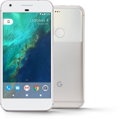 GOOGLE Pixel [4/128GB] - Very Silver