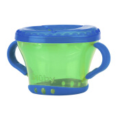 NUBY Snack Keeper 2pk - Blue/Green