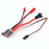 RC ESC 20A Brush Motor Speed Controller w/ Brake for RC Car Boat Tank New