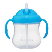 PIGEON Mag Mag Straw Cup - Sky Blue (Hanging Type)