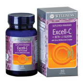 WELLNESS Excell-C+Betaglucan 30 Tablets