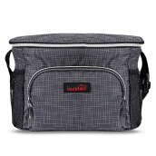Large Capacity Polyamide Cross Body Mummy Bag-Gray