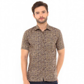 SALT N PEPPER Mens Short Sleeve SNP 084 - Brown