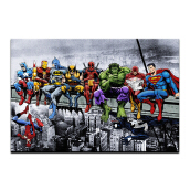 YHHP Picture Print Modern Wall Art on Canvas Unframed Multicolor