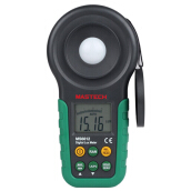 MASTECH MS6612 Digital Light Meter Photometer Instrument Illuminometer Lamps and LED Light Tester