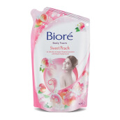 BIORE Body Foam Sweetpeach 450 ml