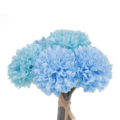 KOKOJI Artificial Dahlia Bouquet - Blue / KKJ-0317-45 JD