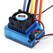 [Kingstore]120A ESC Sensored Brushless Speed Controller For 1/8 1/10 Car/Truck Crawler