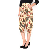 FBW Ballina Balloon Batik Pants Kupu - Putih [All Size]