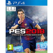 SONY PS4 Game Pro Evolution Soccer 2018 Standard Edition - Reg 2