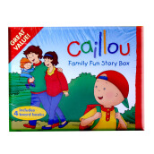 CHOUETTE Caillou Family Fun Story Box 3 - 6 years