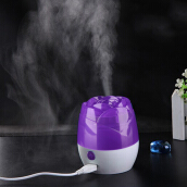 [Kingstore]Hot Mini USB Rose Dazzle Humidifier Office Home Air Diffuser Mist Maker