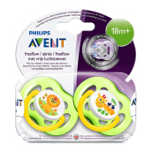 AVENT Freeflow Soother 18m+ TwinPack SCF186/23