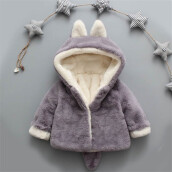 BESSKY Baby Infant Girls Boys Autumn Winter Hooded Coat Cloak Jacket Thick Warm Clothes_