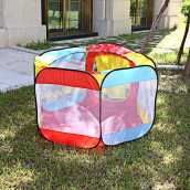 Kids Portable Foldable Ocean Ball Tent Outdoor Indoor Playhut Playhouse