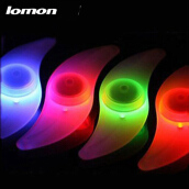 Lomon 5 Pieces Cycling Bicycle Bike spokes LED lamp decoration light LED Tyre Wheel lights Button Battery Revertex Bicycle Wheel Light