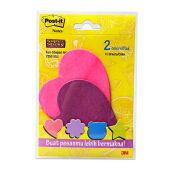 POST-IT Sticky Notes Fun Shape Love 7350 SSJ 3M 48PD/CV