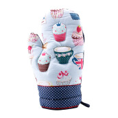 ARNOLD CARDEN Oven Mitts Cup Cake Right Side -  Dark Blue 19x32cm