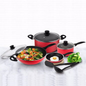 KIRIN Gordang Cookware / Set Alat Masak 9 Pc