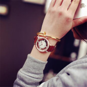 BESSKY Hollow Watch Neutral Fashion Personality Simple Fashion Unique Hollow Watch_