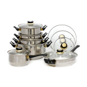 VICENZA Stainless Steel V612 Tipe A Set 12 Pcs - Silver