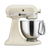 KITCHENAID Artisan Series 4.8 L - 5KSM150PSEAC Tilt-Head Stand Mixer/Almond Cream