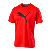 PUMA PT ESS Dry Branded Tee - Red