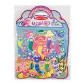 MELISSA & DOUG Puffy Sticker Play Set - Mermaid MD-9413