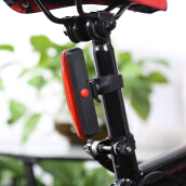 Bicycle Taillight Safety USB Flash Rear Warning Lamp