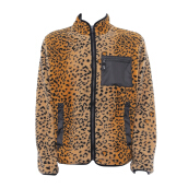SUPREME Leopard Fleece Reversible Jacket Brown [SPR01521C] L