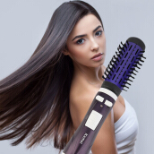 Professional 2 in 1 Electric Auto Rotating Hair Dry Styling Comb Brush Hot