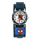 Keymao Spider Man Waterproof 3D Cute Cartoon Silicone Wristwatches Gift for Little Girls Boy Kids Children