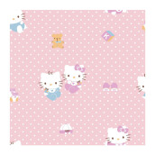 SANRIO Wallpaper Helo Kitty Pink Polka KT-168