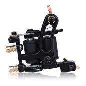 Iron Electric Tattoo Machine Gun 10 Wrap Coils Liner