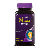 NATROL Maca Extract 500 mg 60 Caps