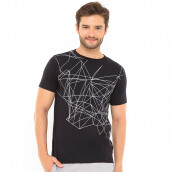 SALT N PEPPER Mens T-Shirt SNP 012 - Black