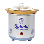 TAKAHI Slow Cooker 0.7 L Heat Resistant - Blue