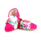 M and M BABY SHOES Slip On - Magenta