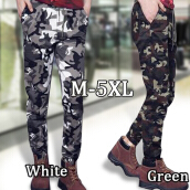 2017 HOT Dnine autumn army fashion hanging crotch jogger pants patchwork harem pants men crotch big Camouflage pants trousers