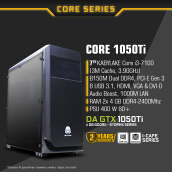 DIGITAL ALLIANCE Core 1050Ti Custom PC - No HDD