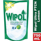 WIPOL Ultra Protection Anti Serangga Lemon Pouch 750ml