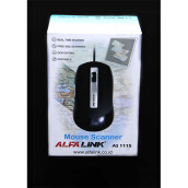 ALFALINK Mouse Scanner (AS-1115) + Free CD OCR Software