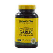 NATURE'S PLUS Garlic & Parsley Oil Softgels 180pcs