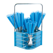 NAKAMI Stainless Steel Cutlery 25pcs - Blue