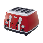 DELONGHI Toaster CTO4003.R - Red