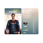 MANDIRI E-Money Justice League First DC Edition Character