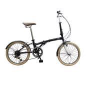 LONDON TAXI Folding Bike 20 Inch - Black