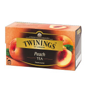 TWININGS Peach Flavoured 25 x 2g
