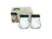 PASABAHCE Garden Jar 0.6L Set of 2 - 80064