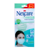 3M NEXCARE Earloop Mask 1 box Isi 12pack *4pc